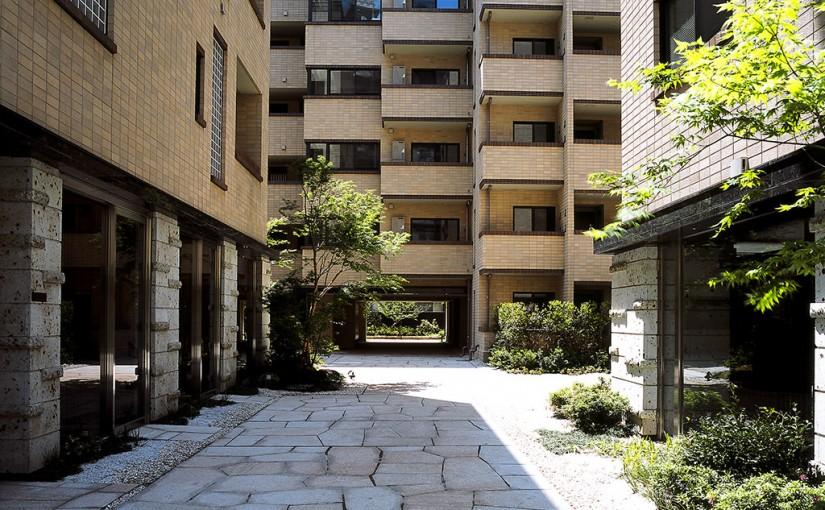 建替え後の同潤会江戸川アパートメントの写真
