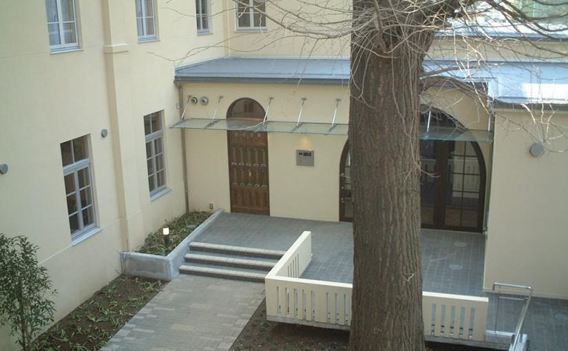 改修後の求道学舎の写真